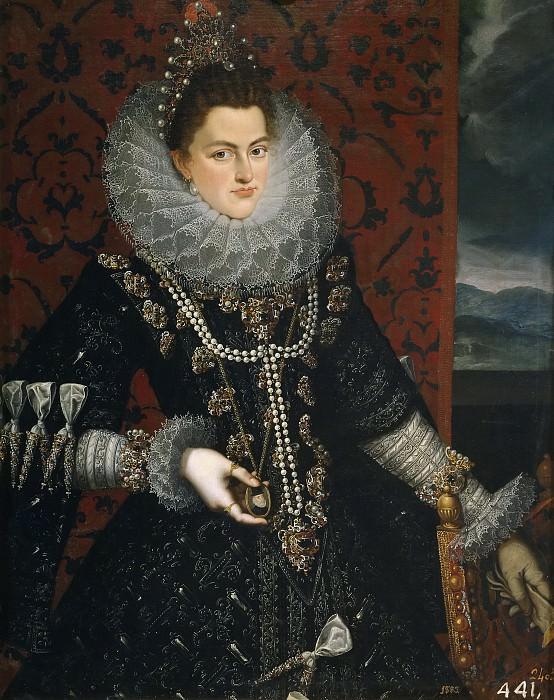 Pantoja de la Cruz, Juan -- La infanta Isabel Clara Eugenia. Part 2 Prado Museum