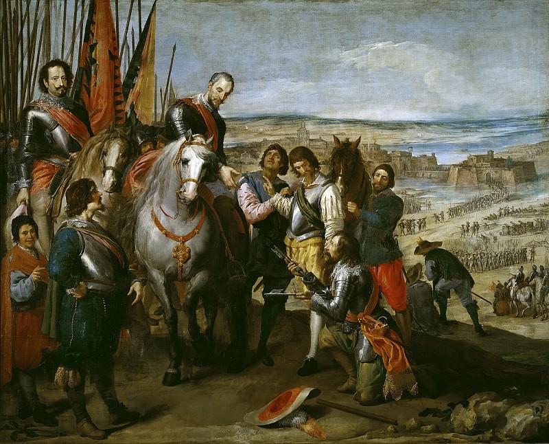 Leonardo, Jusepe -- Rendición de Juliers. Part 2 Prado Museum