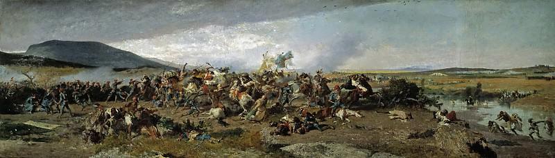 Fortuny Marsal, Mariano -- La Batalla de Wad-Rass. Part 2 Prado Museum
