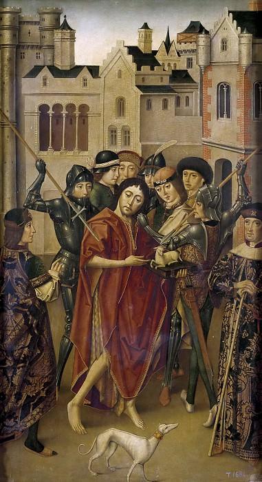 Maestro de Miraflores -- Prisión de San Juan Bautista. Part 2 Prado Museum