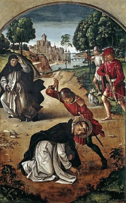 Berruguete, Pedro -- La muerte de San Pedro Mártir. Part 2 Prado Museum