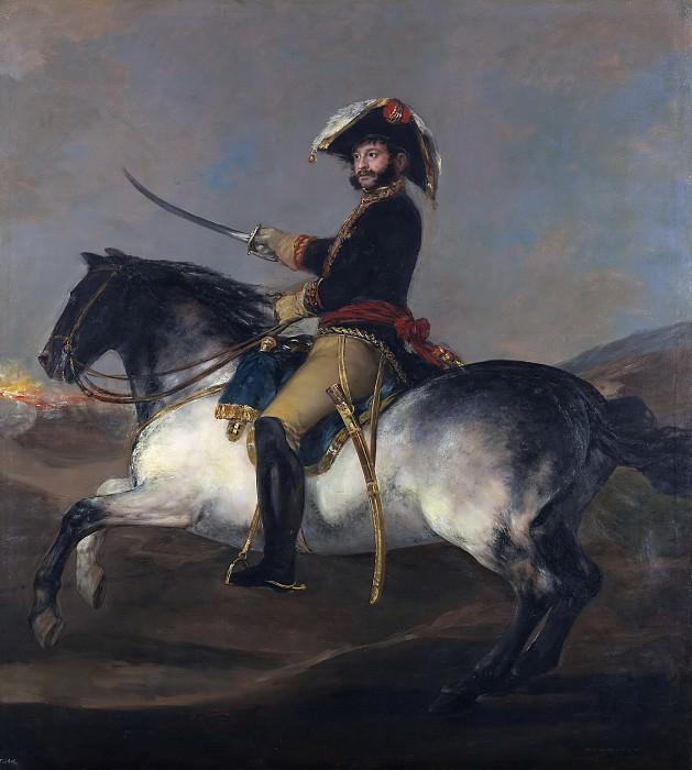 Goya y Lucientes, Francisco de -- El general José de Palafox, a caballo. Part 2 Prado Museum