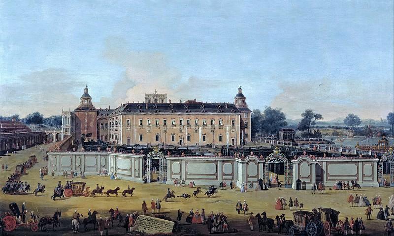 Battaglioli, Francesco -- Vista del Palacio de Aranjuez. Part 2 Prado Museum