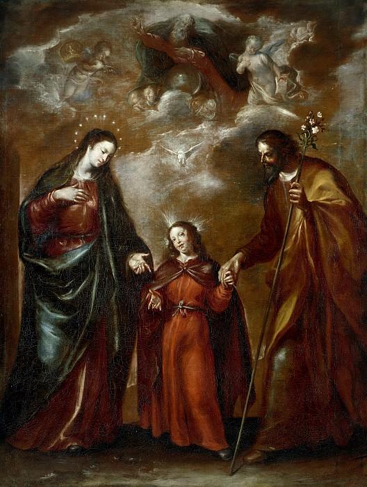 Camilo, Francisco -- La Sagrada Familia, o La Trinidad en la Tierra. Part 2 Prado Museum