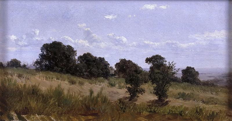 Хаэс, Карлос де -- Пейзаж в Дофинэ. Часть 2 Музей Прадо