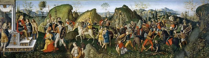 Aspertini, Amico; Aspertini, Guido -- La continencia de Escipión. Part 2 Prado Museum