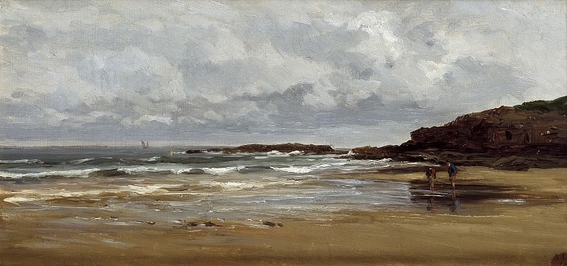 Хаэс, Карлос де -- Пляж в Карраспио. Часть 2 Музей Прадо