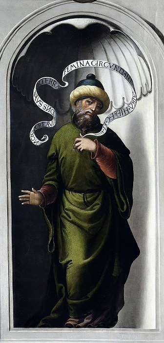 Correa de Vivar, Juan -- El profeta Jeremías. Part 2 Prado Museum