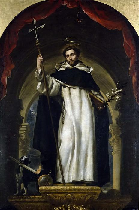 Coello, Claudio -- Santo Domingo de Guzmán. Part 2 Prado Museum