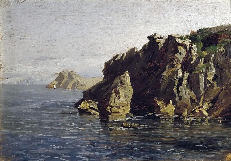 Haes, Carlos de -- Rocas de Santa Catalina (Lequeitio). Part 2 Prado Museum