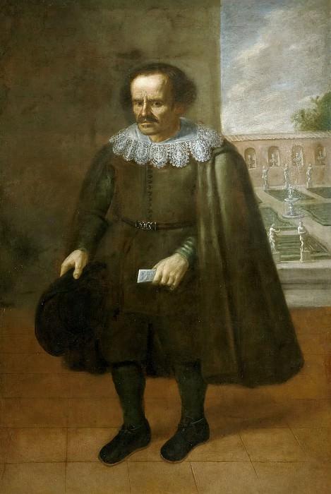 Anónimo -- El enano Juan de Portilla (¿?). Part 2 Prado Museum