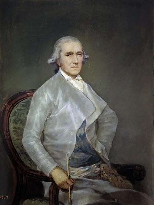 Goya y Lucientes, Francisco de -- El pintor Francisco Bayeu. Part 2 Prado Museum