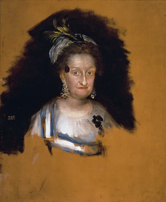 Гойя и Лусиентес, Франсиско де -- Мария Хозефа де Бурбон, инфанта Испанская. Часть 2 Музей Прадо