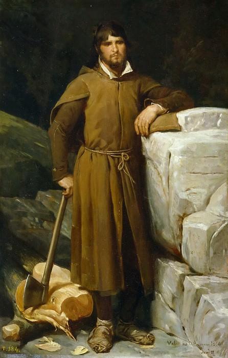 Домингес Бекер, Валериано -- Плотник. Часть 2 Музей Прадо