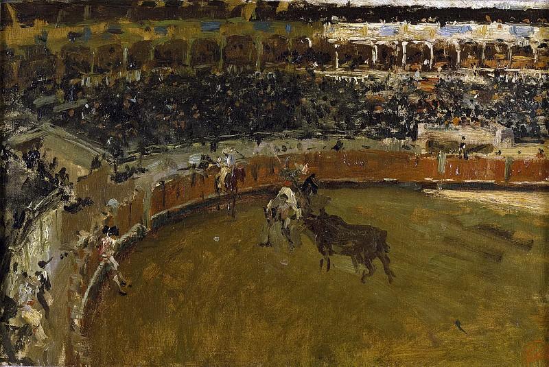 Fortuny Marsal, Mariano -- Corrida de toros. Part 2 Prado Museum