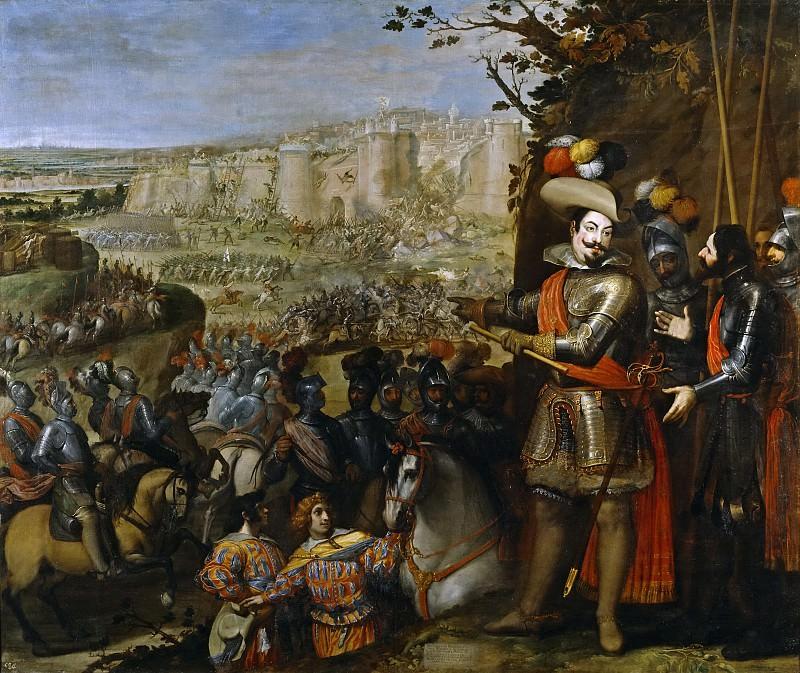 Carducho, Vicente -- Expugnación de Rheinfelden. Part 2 Prado Museum