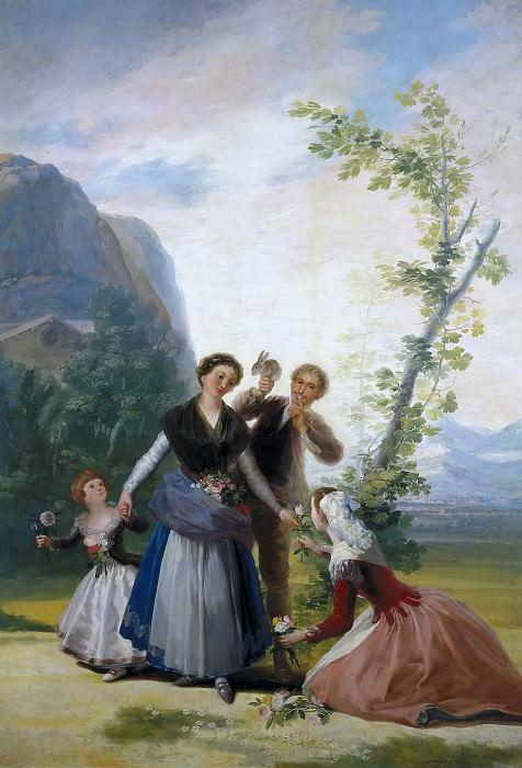 Гойя и Лусиентес, Франсиско де -- Весна. Часть 2 Музей Прадо