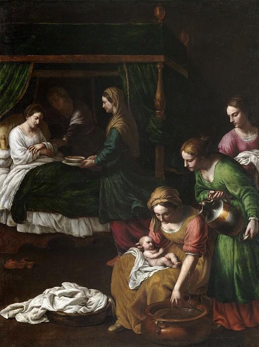Turchi, Alessandro -- El Nacimiento de la Virgen. Part 2 Prado Museum