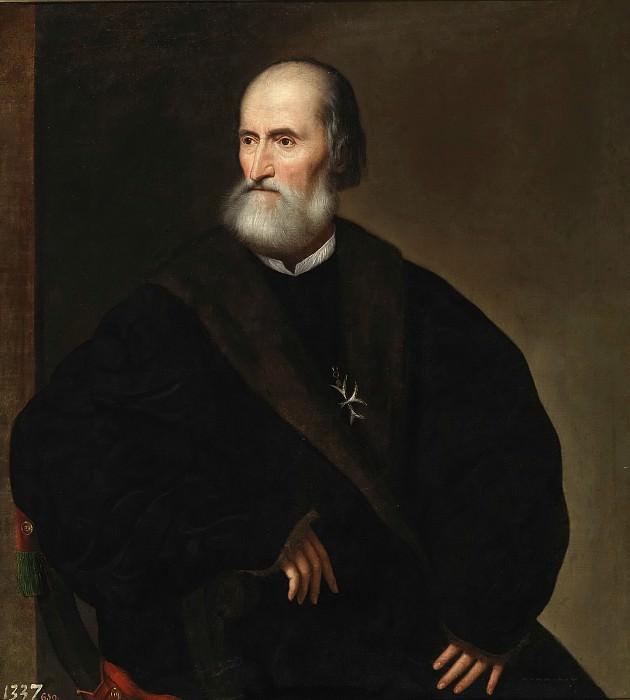 Аноним -- Пьетро Бембо в качестве настоятеля ордена Святого Иоанна Иерусалимского. Часть 2 Музей Прадо