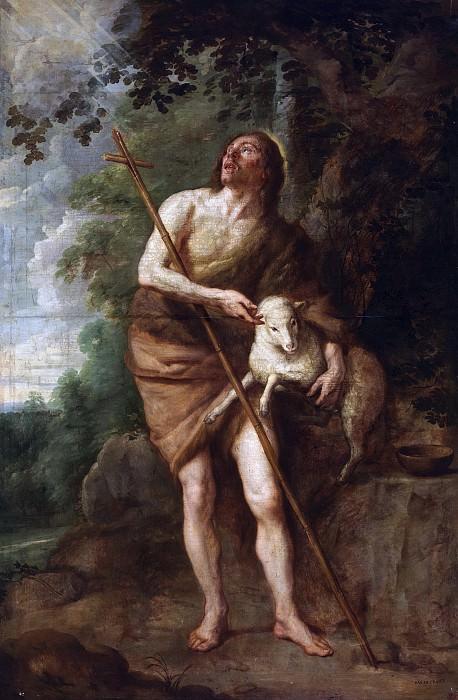 Crayer, Gaspar de -- San Juan Bautista. Part 2 Prado Museum