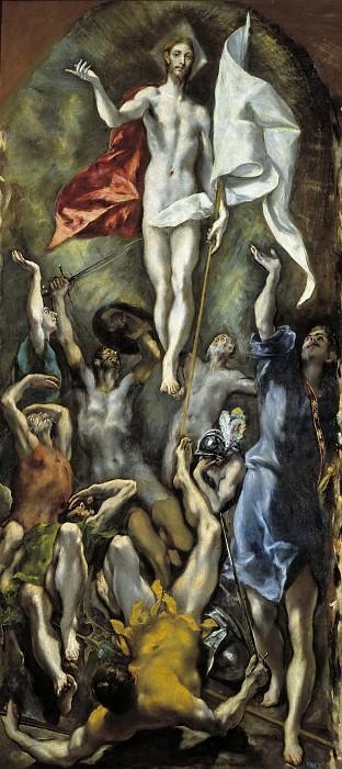 La Resurrección. El Greco