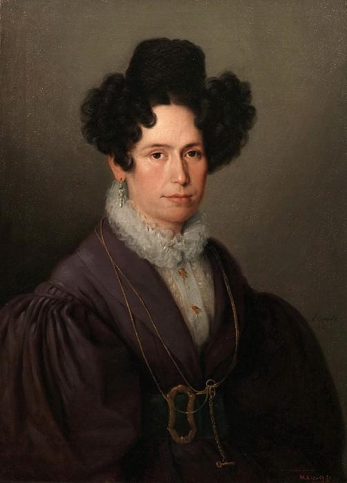 Esquivel y Suárez de Urbina, Antonio María -- Fernanda Pascual de Miranda. Part 2 Prado Museum