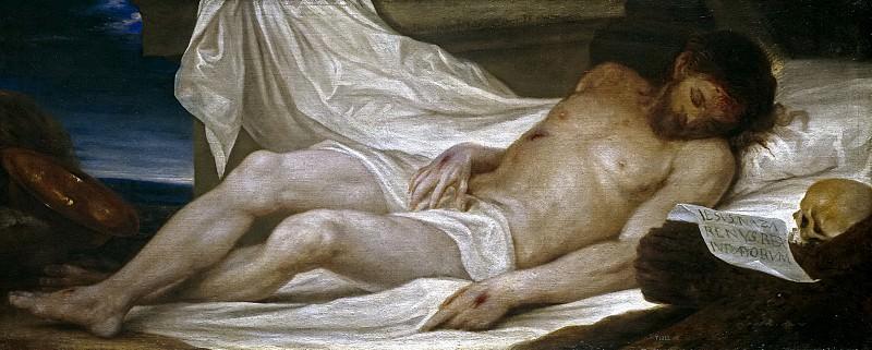 Эскаланте, Хуан Антонио де Фриас -- Лежащий Христос. Часть 2 Музей Прадо