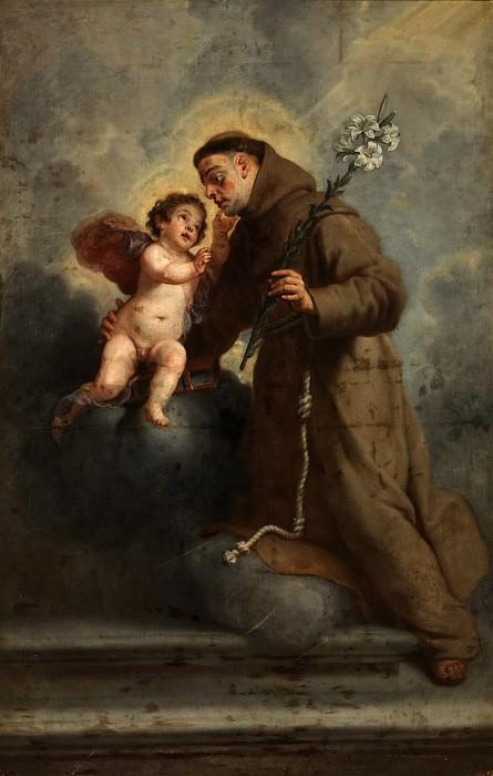 Crayer, Gaspar de -- San Antonio de Padua con el Niño Jesús. Part 2 Prado Museum