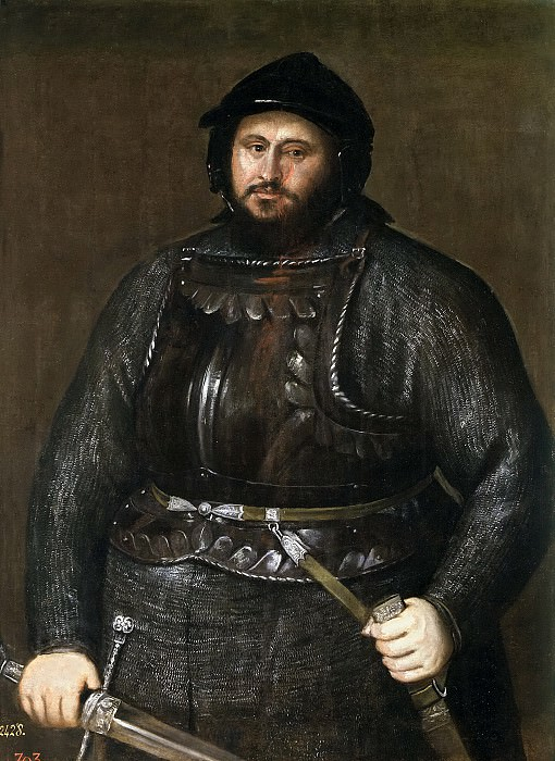 Tiziano, Vecellio di Gregorio -- Juan Federico I de Sajonia. Part 2 Prado Museum