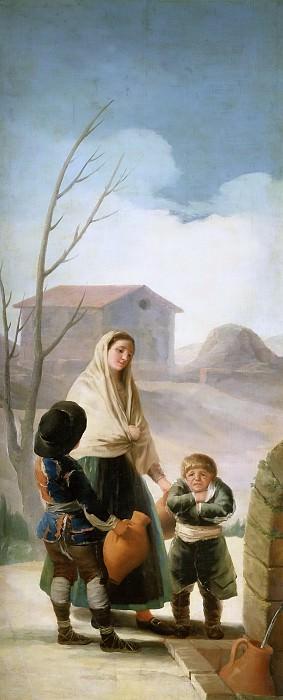 Goya y Lucientes, Francisco de -- Los pobres en la fuente. Part 2 Prado Museum