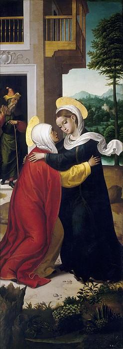 Correa de Vivar, Juan -- La Visitación / San Jerónimo penitente. Part 2 Prado Museum