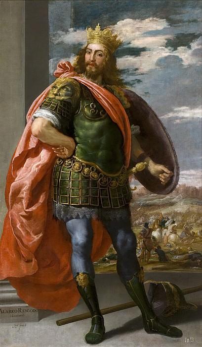 Леонардо, Хусепе -- Аларих, король вестготов. Часть 2 Музей Прадо