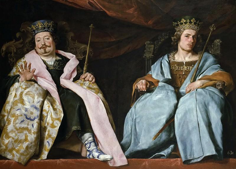 Cano, Alonso -- Dos reyes de España. Part 2 Prado Museum