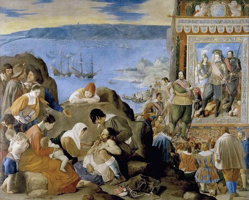 Maíno, Fray Juan Bautista -- Recuperación de Bahía de Todos los Santos. Part 2 Prado Museum