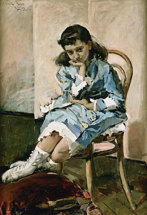Sala y Francés, Emilio -- María Guerrero, niña. Part 2 Prado Museum