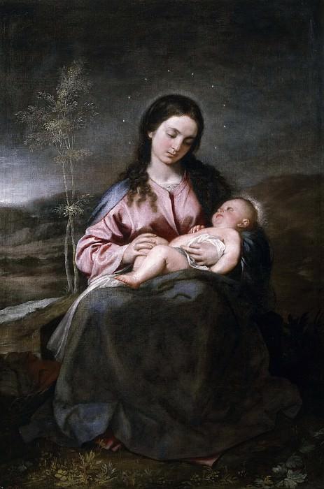 Cano, Alonso -- La Virgen con el Niño. Part 2 Prado Museum