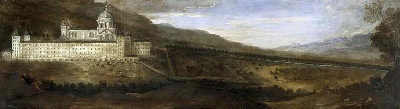 Agüero, Benito Manuel de -- Vista del Monasterio de El Escorial. Part 2 Prado Museum