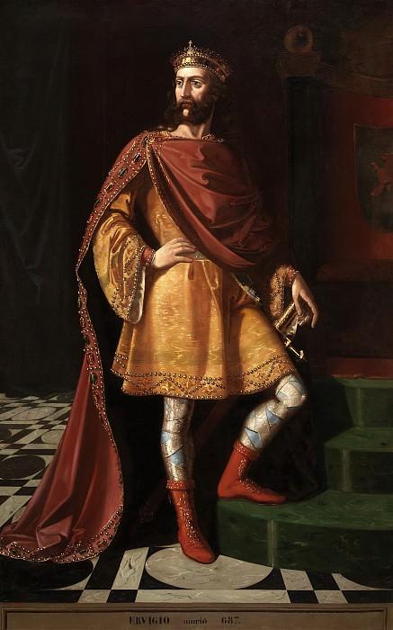 Cortés, Ramón -- Flavio Ervigio, rey godo. Part 2 Prado Museum