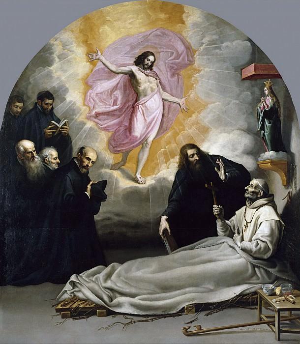 Carducho, Vicente -- La muerte del Venerable Odón de Novara. Part 2 Prado Museum