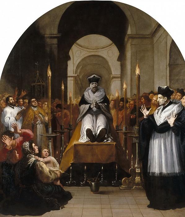 Кардучо, Висенте -- Чудо св Бруно над телом Раймона Диокреса. Часть 2 Музей Прадо