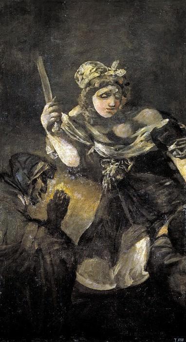 Гойя и Лусиентес, Франсиско де -- Юдифь и Олоферн. Часть 2 Музей Прадо