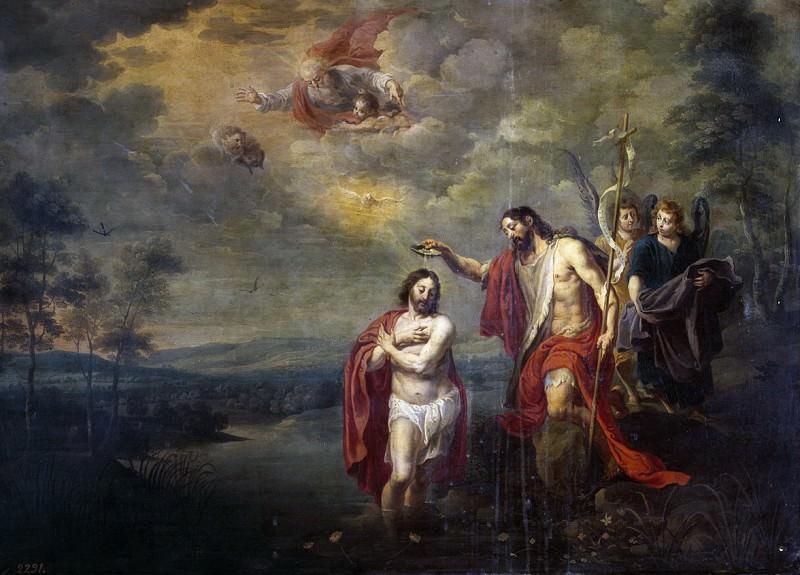 Herp, Willem van II -- Bautismo de Cristo. Part 2 Prado Museum