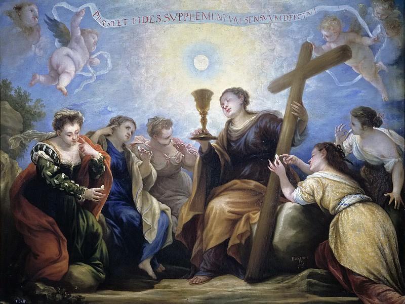 Эскаланте, Хуан Антонио де Фриас -- Торжество веры над чувствами. Часть 2 Музей Прадо