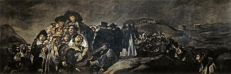 Гойя и Лусиентес, Франсиско де -- Паломничество к св Исидору. Часть 2 Музей Прадо