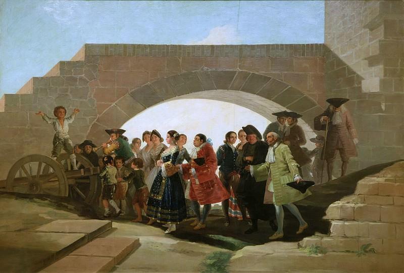 Goya y Lucientes, Francisco de -- La boda. Part 2 Prado Museum