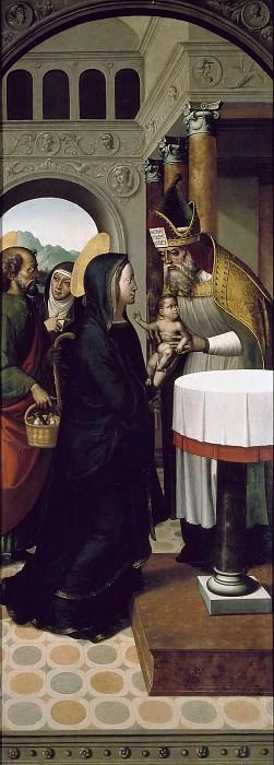 Correa de Vivar, Juan -- Presentación de Jesús en el Templo. Part 2 Prado Museum