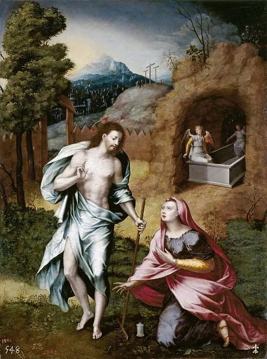 Vallejo Cósida, Jerónimo Vicente -- Noli me tangere. Part 2 Prado Museum