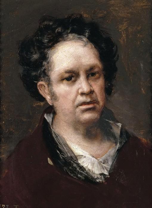 Goya y Lucientes, Francisco de -- Autorretrato. Part 2 Prado Museum