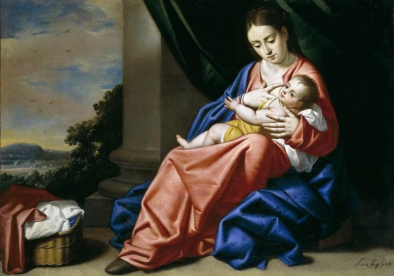 Arias Fernández, Antonio -- Virgen con el Niño. Part 2 Prado Museum