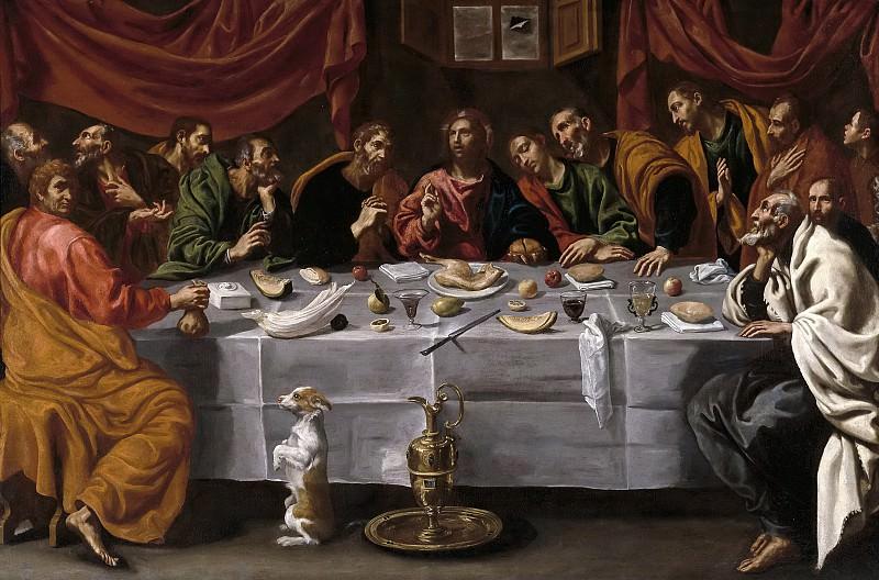Тристан, Луис -- Тайная вечеря. Часть 2 Музей Прадо